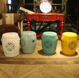 Sgabello intagliato di ceramica (LS-176)