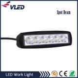 6 indicatore luminoso del lavoro dell'indicatore luminoso di azionamento di pollice 18W Bridgelux LED con 1080lm