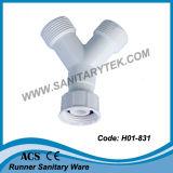 PVC洗濯機のアウトレット水ホース(H01-809)