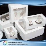 Kundengerechte Papppapierverpackenkasten für Nahrungsmittelkuchen (xc-fbk-043)