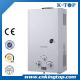 Calentador de agua del gas del gas ciudad con CE