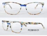 Mais novo Estilo Óculos de pedra colorida Óptico Óculos Moldura Óptica