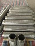 Flexibles Metalschlauch mit Draht-Einfassung