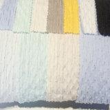 Peça de vestuário de malha de licra de tecido de algodão Fabric tecido Jacquard para vestir calças de desgaste das crianças