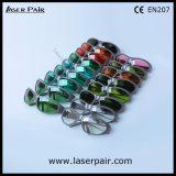 赤いタイプの635nm、650nm、694nmまたはフレーム55とのルビー色のレーザーの安全ガラスレーザーの保護Eyewearを遊ばす