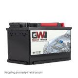 DIN66 12V 66ah wartungsfreie Autobatterie