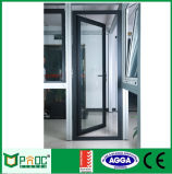 Giro de aluminio con doble apertura de puertas de Casement con2047 (PNOC0015CMD)