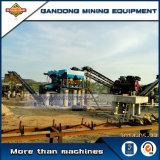 La minería de alto rendimiento de la gravedad de la línea de producción de oro de la máquina