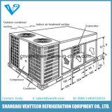 Condizionatore d'aria a pompa impaccato del tetto di calore
