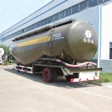 v 반 모양 분말 판매를 위한 물자 세 배 차축 부피 시멘트 탱크 트레일러