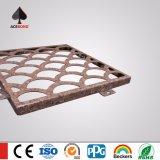 Tallado CNC Paneles decorativos de aluminio