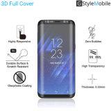 2017 Zubehör-ausgeglichenes Glas-Bildschirm-Schoner-Fall des GStyleMobile Marke AGC-GlasHandy-3D freundlich für Samsung, Samsung-Galaxie S8
