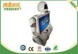 Máquina de juego de interior de la Movimiento-Sensibilidad de la robusteza de Kung-Fu del juego para la alameda de compras