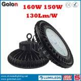 La corte 130lm/W di sport dello stadio del gruppo di lavoro della fabbrica del magazzino impermeabilizza l'alta lampada della baia di 150W LED