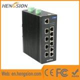 Interruptor industrial manejado de la red de Ethernet del SFP del gigabit portuario 10