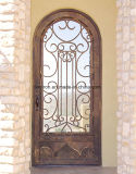 Bom preço Iron Custom Single Entry Door for Garden