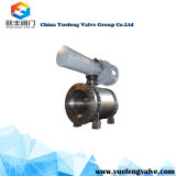 Válvula de Esfera do munhão forjadas pneumática