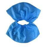 Disaposable PP/PE/PU/CPE não tecido Waterproof a tampa da sapata