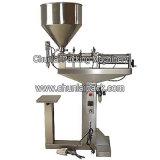 Machine de remplissage pneumatique verticale de pâte de XP-a
