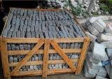 Прокладывая светло-серый цвет камня, вымощены булыжником камня, Cube камня