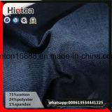 安いインディゴの伸縮織物の綿織物のデニムの価格