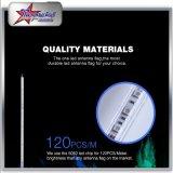 Fouets simples de la couleur DEL pour UTV ATV 4FT 5FT 6FT 8FT avec les fouets lumineux superbes de sûreté de la pipe flexible DEL