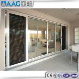 Раздвижные двери фабрики Китая с профилем Auminium