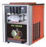 多彩なステンレス鋼の版ボディ柔らかいサーブのアイスクリーム機械