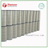 Membrana de PTFE filtros de cartucho usado nos coletores de pó Industrial