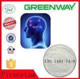Pharmazeutisches chemisches Piracetam Nootropic Piracetam für Bodybuilding ergänzt CAS 7491-74-9