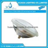 Lámpara subacuática brillante de la luz de la piscina del blanco PAR56