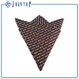 Quadrato Pocket in pieno tessuto di seta della saia di nuovo disegno