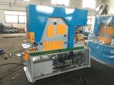 La machine perforée Mutiple hydraulique de feuille de Q35y fonctionne serrurier