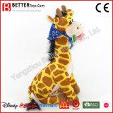 Venda quente brinquedo macio enchido do Giraffe de Aniamal