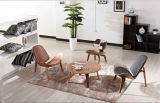 단단한 나무 의자 거실 의자 Eames Lcw 의자