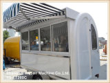 Тележка Tuk Tuk еды Ys-FT280c сильная стальная передвижная для сбывания