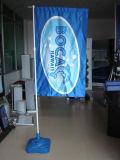 La publicité du stand de drapeau d'indicateur de cadre d'eau de stand de drapeau d'étalage