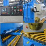 CNC de Hydraulische Scheerbeurt van de Guillotine, de Scherpe Machine van het Blad van het Metaal, de Snijder van de Plaat