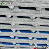 Colorare il pannello a sandwich d'acciaio dell'isolamento termico ENV della parete della costruzione