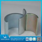 Магнит дуги неодимия NdFeB высокого качества постоянный спеченный