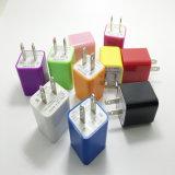 Chargeur de cube en mur d'USB pour le smartphone nous fiche