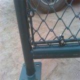 防御フェンスまたは金網の塀またはチェーン・リンクの塀