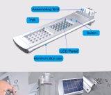 Самый новый интегрированный солнечный уличный фонарь СИД с регулируемой панелью солнечных батарей