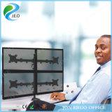 Soporte del monitor del brazo del monitor de la canalización vertical del montaje del monitor del monitor Ys-D29g-2 de la PC del soporte cuatro de Jeo