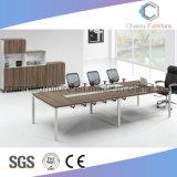 Mesa de conferência de mobiliário de melamina elegante e útil