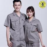 Roupa de trabalho unisex de poliéster de algodão, Fábrica Manter uniforme de trabalho