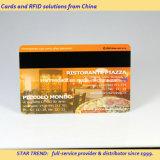 Cartão do membro da farmácia feito do plástico com listra magnética (ISO 7811)