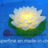 Flottant Garden Pool Utilisez Romantic Lotus LED Flowers for Outdoor