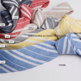 Fabricant Customed Popular Casual Striped Linen Skinny Necktie