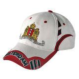 安く白いスポーツの帽子(JRE121)